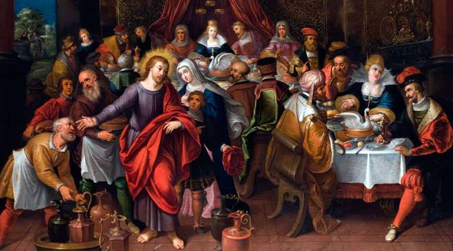 Bodas de Caná / Crédito: Wikipedia - Cornelis De Baellieur (Dominio público)